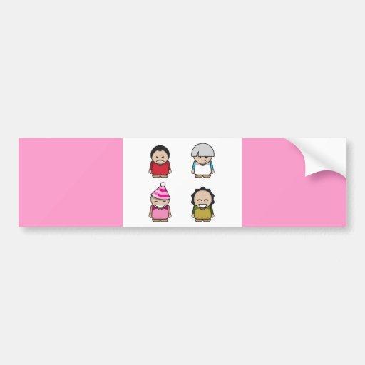 character-vector-pack-one-10111-large etiqueta de parachoque