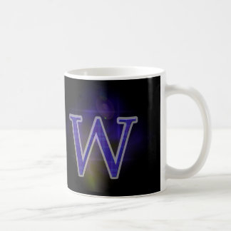 Character W Coffee Mug