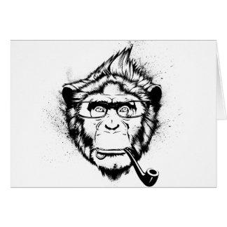 Characteristic Chimp Card