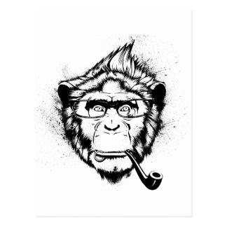 Characteristic Chimp Post Card