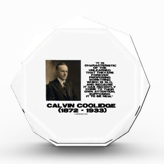 Characteristic Of The Unlearned Old New Coolidge Award