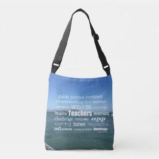 Characteristics of a Great Teacher Crossbody Bag
