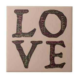 CHARACTERISTICS OF TRUE LOVE TYPOGRAPHY TILES