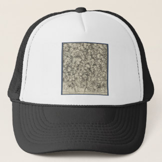 Characters and Caricaturas by William Hogarth Trucker Hat