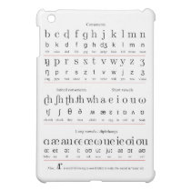 Characters Chart of the Initial Teaching Alphabet Case For The iPad Mini