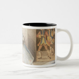 Characters from 'Cosi fan tutte' by Mozart, 1840 Mugs