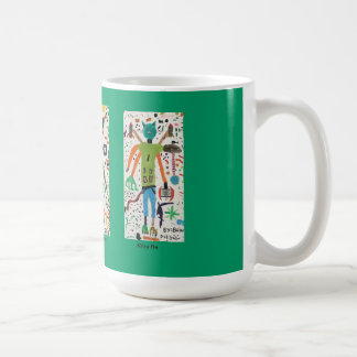 Characters from the imagination of Brian Dodd Coffee Mugs