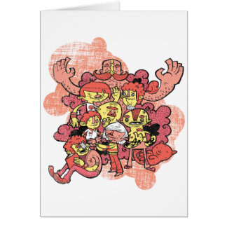 Characters Greeting Cards