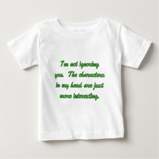 Characters In My Head Baby T-Shirt