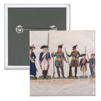 Characters of the French Revolution Button