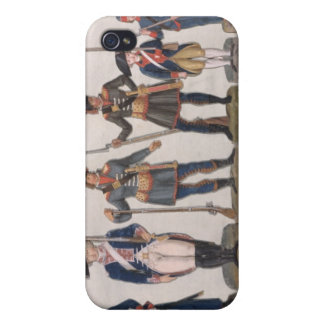 Characters of the French Revolution Cover For iPhone 4