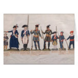 Characters of the French Revolution Greeting Card