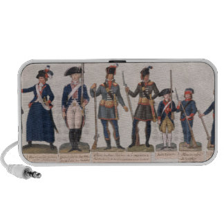 Characters of the French Revolution iPod Speaker
