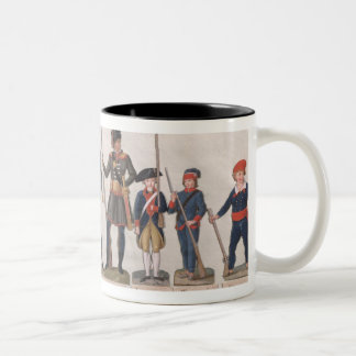 Characters of the French Revolution Two-Tone Coffee Mug