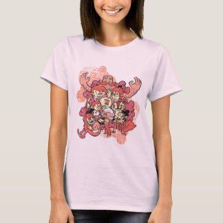 Characters Pink T-Shirt
