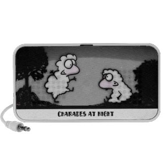 Charades at Night iPhone Speaker