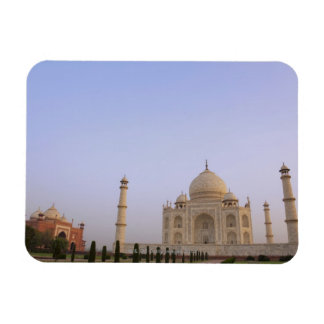 Charbagh vacío cultiva un huerto en el Taj Mahal e Iman De Vinilo