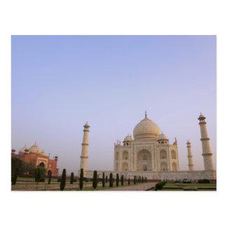 Charbagh vacío cultiva un huerto en el Taj Mahal Tarjeta Postal