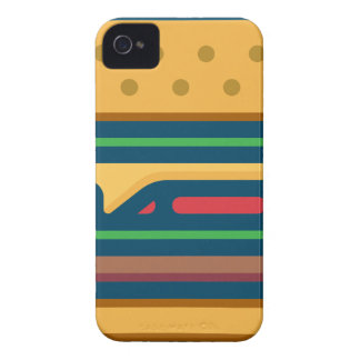 Charbroiled Cheeseburger iPhone 4 Case