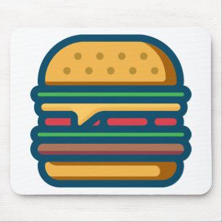 Charbroiled Cheeseburger Mouse Pad