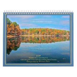 Charca 2017 de Walden y más allá: Calendarios De Pared