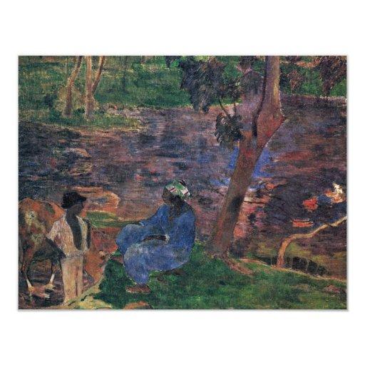 Charca de Gauguin Paul (la mejor calidad) Comunicados