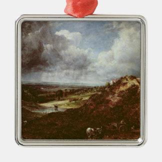 Charca de la colina de la rama, brezo de Hampstead Ornaments Para Arbol De Navidad