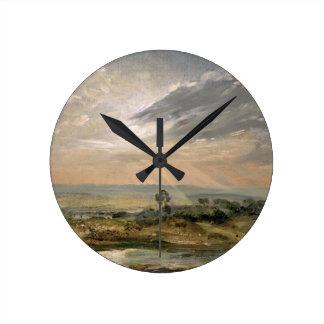 Charca de la colina de la rama Hampstead Reloj