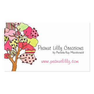 Charca de la reflexión tarjeta personal