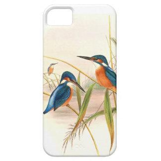 Charca de los animales de la fauna de los pájaros funda para iPhone SE/5/5s