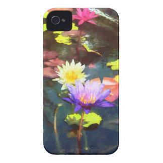 Charca de Lotus iPhone 4 Fundas