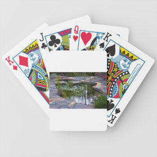 charca del koi baraja cartas de poker