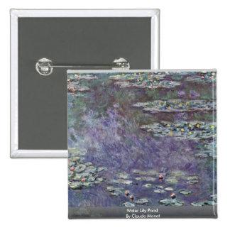 Charca del lirio de agua de Claude Monet Pins