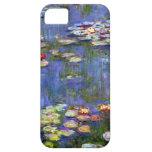 Charca del lirio de agua de Monet iPhone 5 Cárcasas