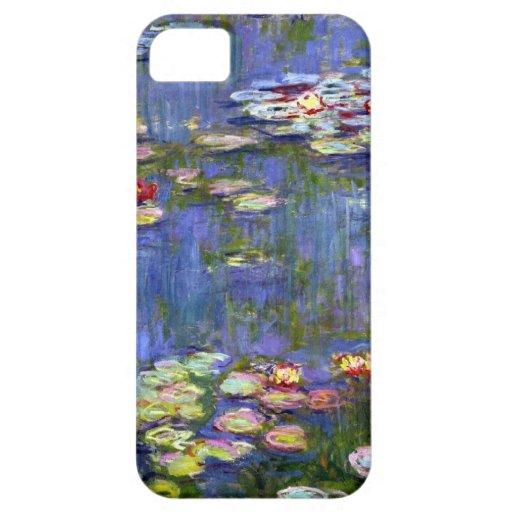 Charca del lirio de agua de Monet iPhone 5 Carcasas