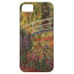 Charca del lirio del agua de Monet iPhone 5 Case-Mate Coberturas
