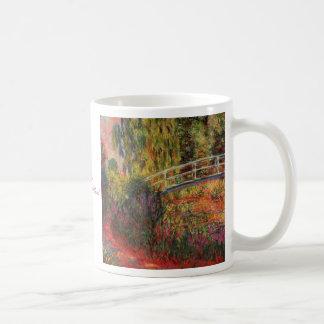 Charca del lirio del agua de Monet Taza De Café