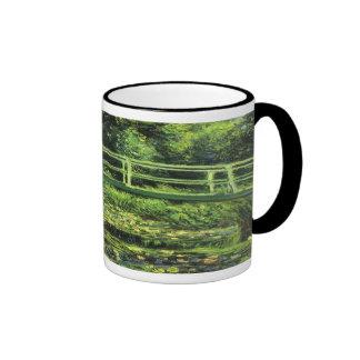 Charca del lirio del agua de Monet Tazas De Café