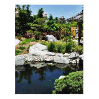 Charca del parque del balboa del jardín de la amis tarjetas postales