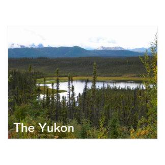 Charca del Yukón Postales