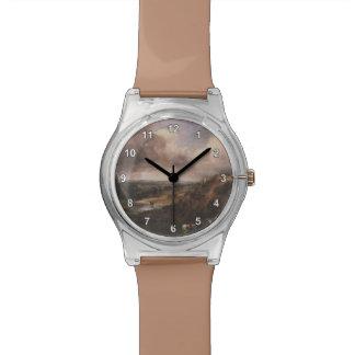 Charca en Branchhill de John Constable Reloj De Mano