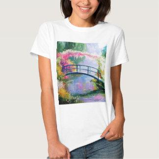 Charca en el jardín de Monet Remeras