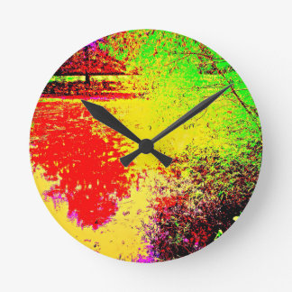 Charca psicodélica relojes