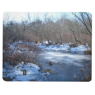 Charcas del humedal en invierno cuadernos