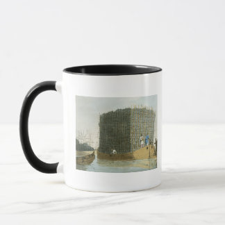 Charcoal Bark, etched by the artist, published 180 Mug