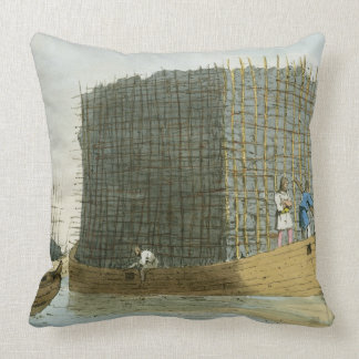 Charcoal Bark, etched by the artist, published 180 Throw Pillows