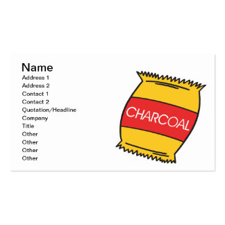 Charcoal Double-Sided Standard Business Cards (Pack Of 100)