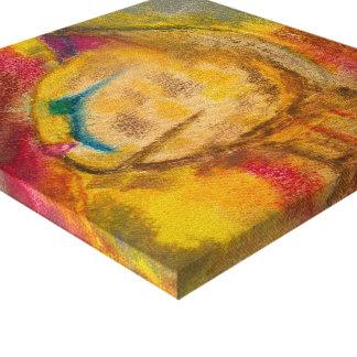 Charcoal Cat Canvas Print