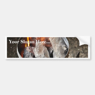 Charcoal Chimney Starter Bumper Stickers