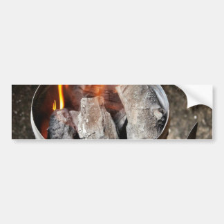 Charcoal Chimney Starter Bumper Sticker